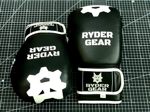 White - Regulation Boxing Glove Pup Mitts