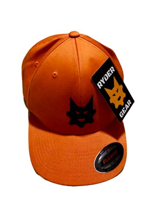 Ryder Gear - Fitted Embroidered Hat (Orange)