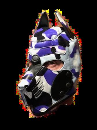 *Ryder Gear Pup Hood - Blue Camo