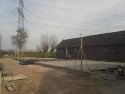 Nieuwbouw boerderij