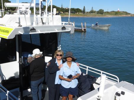 """""""Thungarra"""" Launch - Congratulations Marine Rescue Port Denison"""