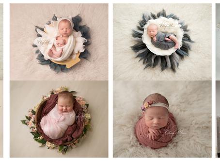 Seven week old newborn photography - Hertfordshire