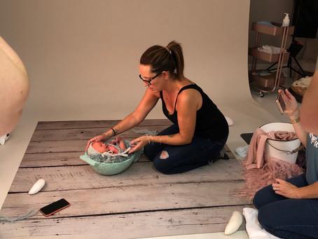 Newborn photography workshop - St Albans - Hertfordshire