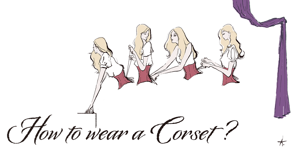 How to wear a corset ?