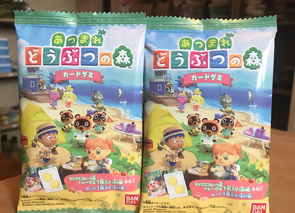 Animal Crossing Card Gummy