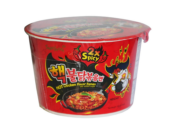 Ramen Coréen double spicy