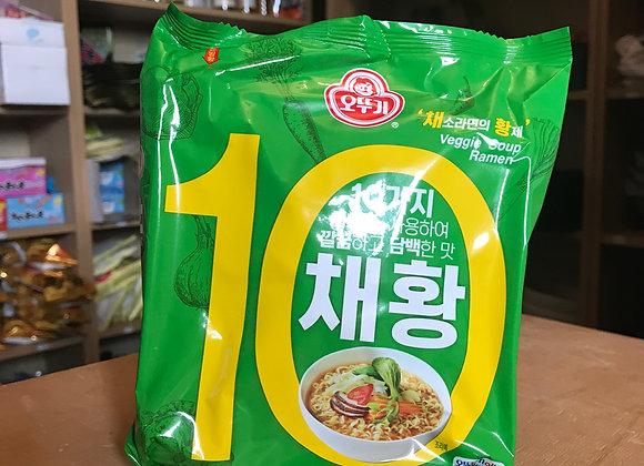 Ramen Veggie Coréen