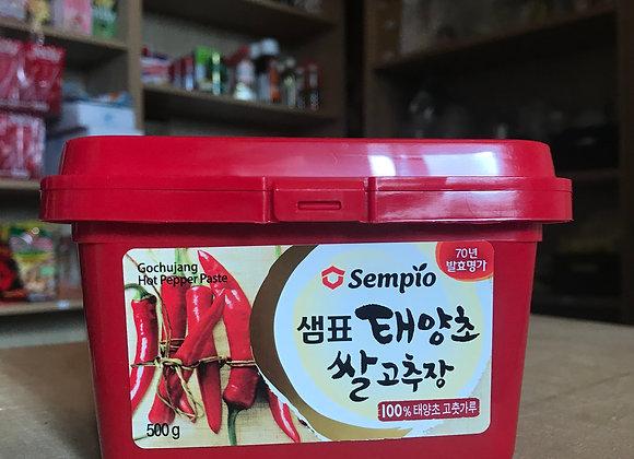 Pâte de piment rouge