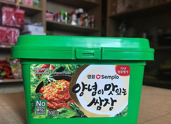 Pâte de soja assaisonné