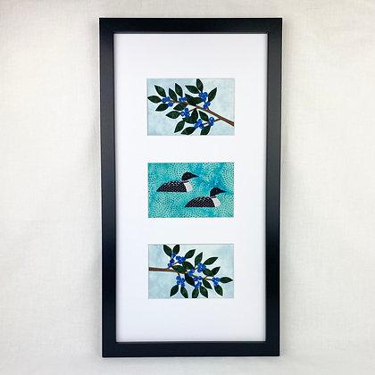 Loon w/ Blueberries