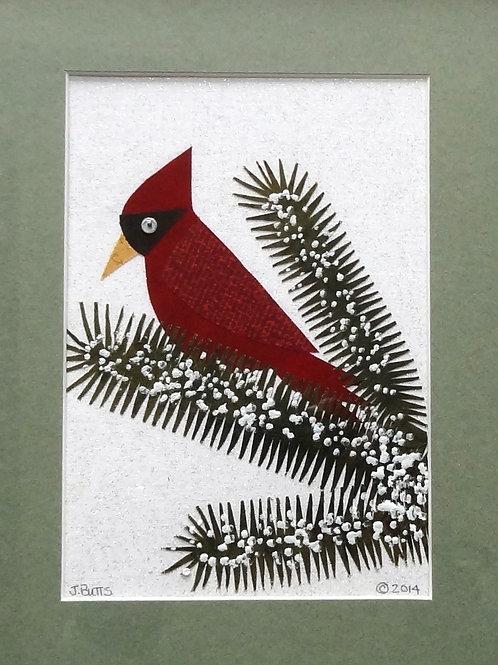 Cardinal (Pine cone)
