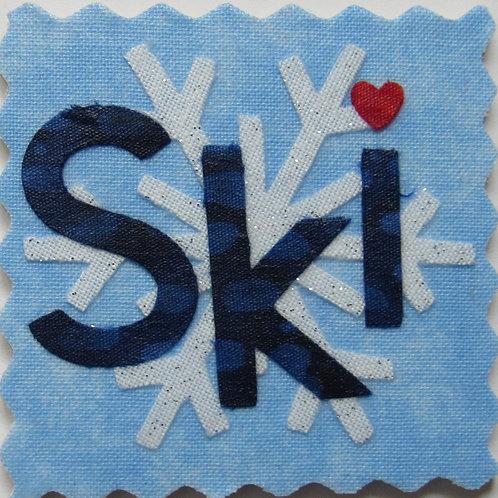 Ski Magnet