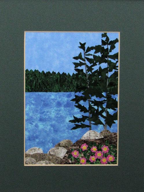 Maine Coast w/ Roses