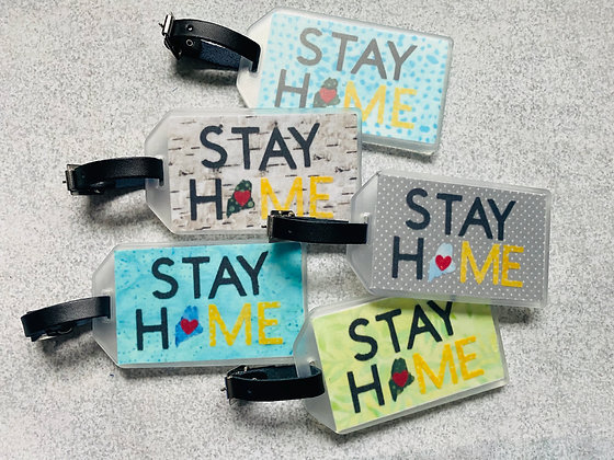 Stay HoME Luggage Tag
