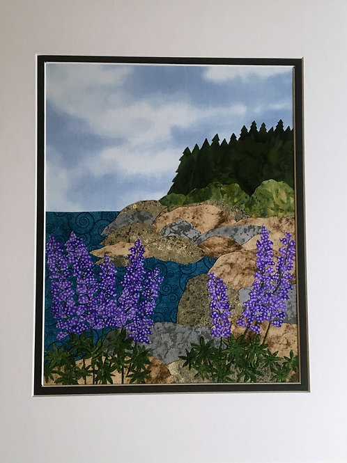 Maine Coast w/ Lupine