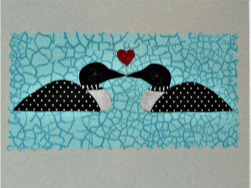 Loon Love Card