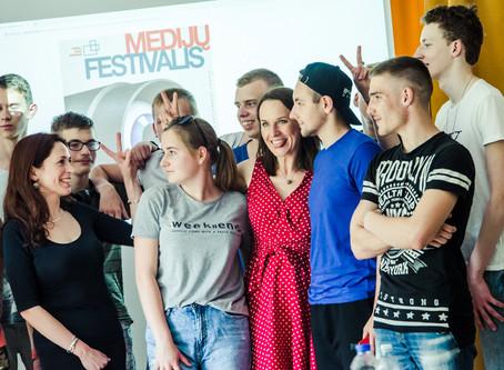 Medijų festivalis Naujojoje Vilnioje ir Visagine