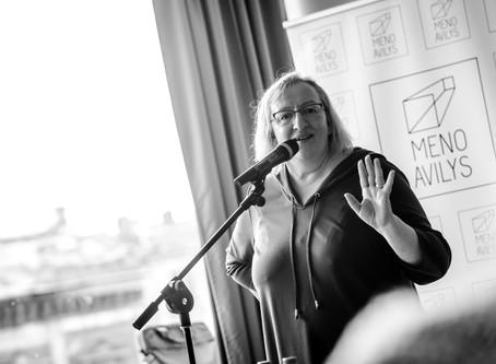 Susitikimas su Tartu universiteto profesore Kadri Ugur