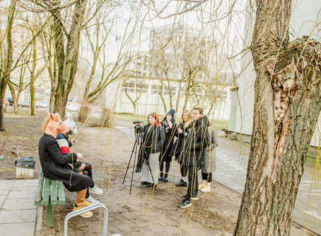 """Vaidybinio kino kūrimas Vilniaus """"Santaros"""" gimnazijoje"""