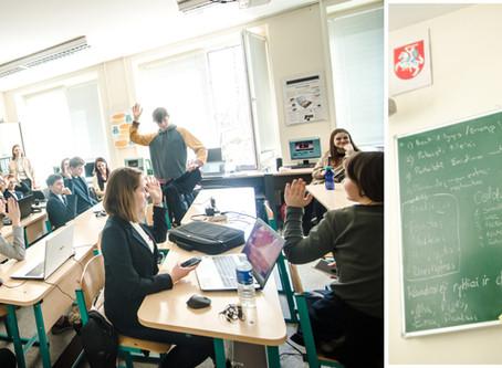 Kūrybinės kompiuterinių žaidimų dirbtuvės Petro Vileišio progimnazijoje