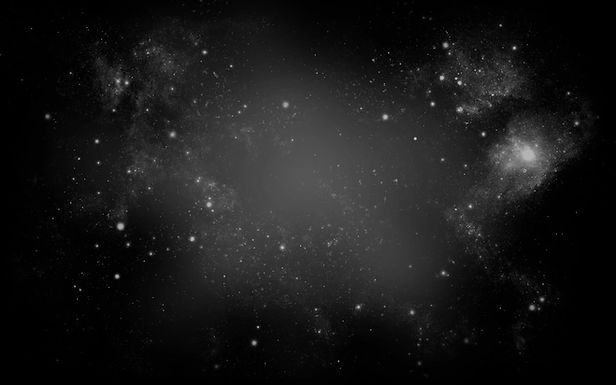 Черное небо