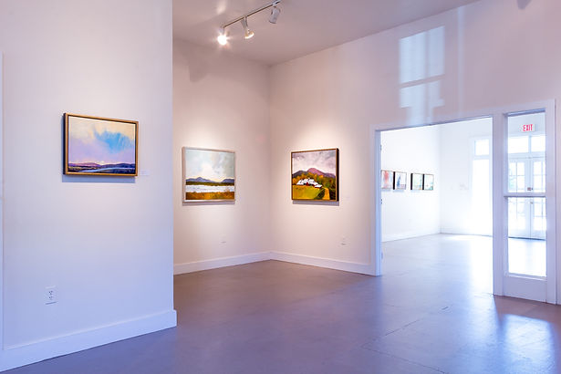 Gallery Interior, showing artwork from the Marie Cole solo show
