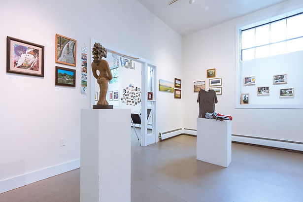 Gallery Interior, showing artwork from our Tivoli show