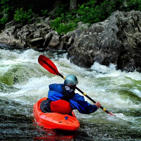 Kayaking Briancon