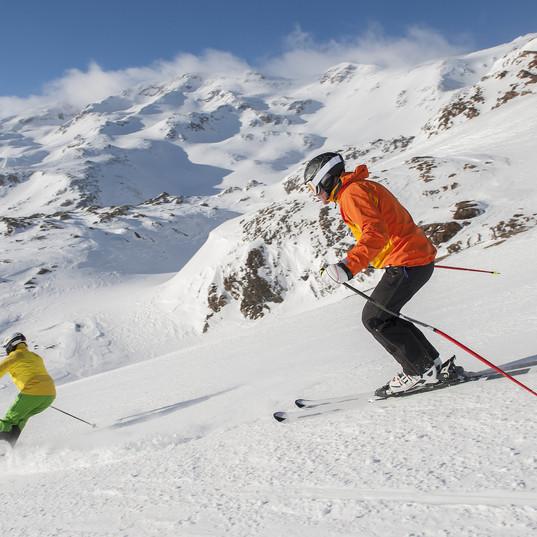 Downhill Skiing in Briancon