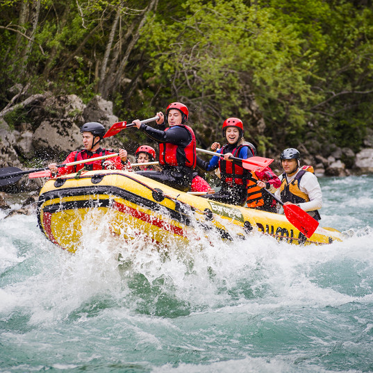 Rafting in Briancon