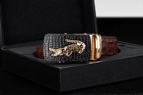 Genuine Crocodile Leather Belt