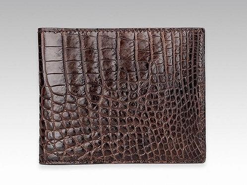 Genuine Crocodile Skin Men's Wallet