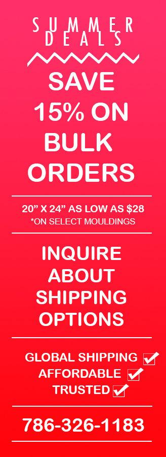 Frame Order Promo