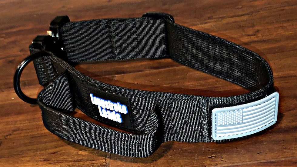 Tactical Collar with Handle