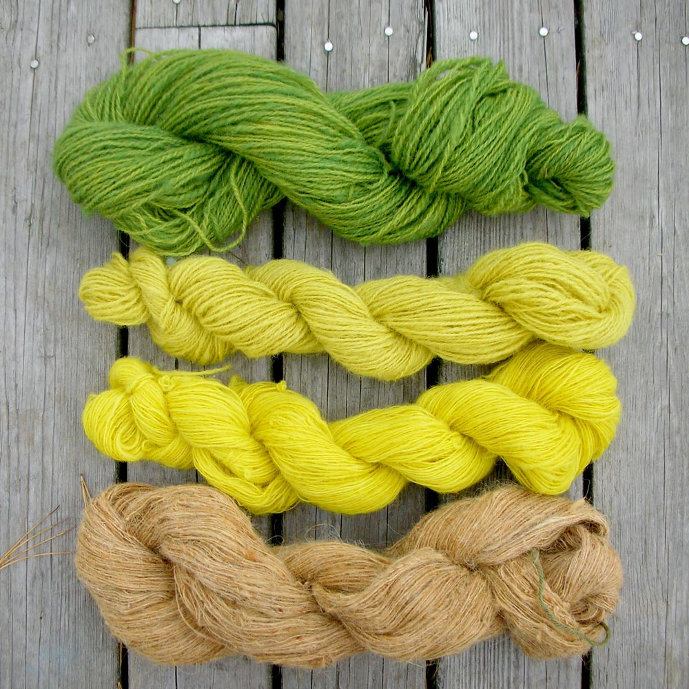 goldenrod dyes