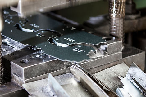Automated stamping with progressive tooling