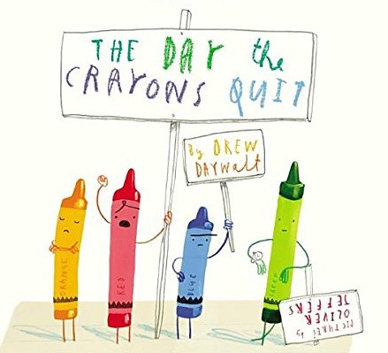 THE DAY THE CRAYONS QUIT Pastelli ribelli!