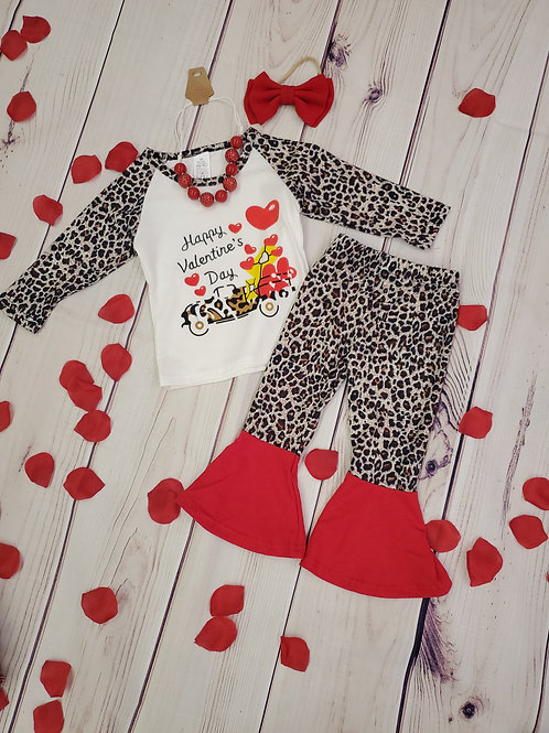 Valentine's day Bell bottom outfit