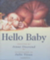 hello baby by Jenni Overend doula madison, wi