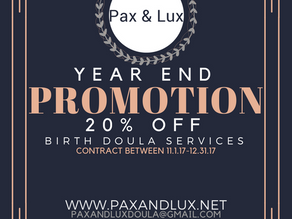 Year End Promo!