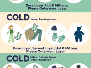 Babywearing in Winter