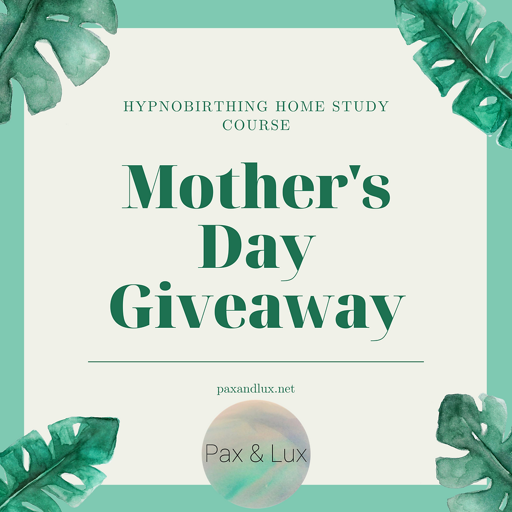 Hypnobirthing Home Study Course Giveaway!