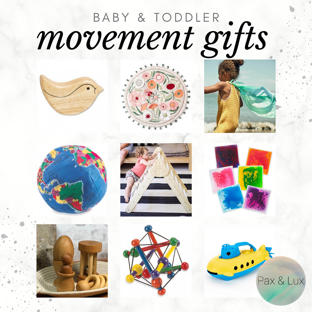 baby and toddler movement gifts 2020