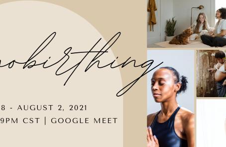 Hypnobirthing Summer Session 2021