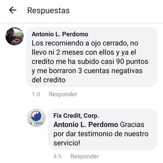 Testimonio Antonio L. Perdomo