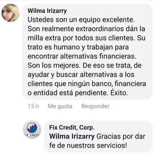 Testimonio Wilma Irizarry