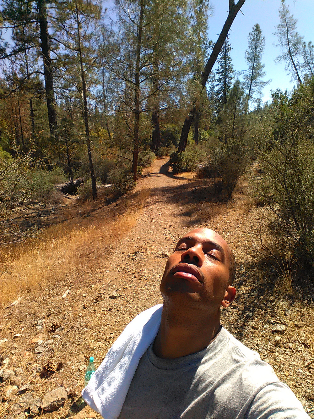 Out in nature in Eldarado Ca