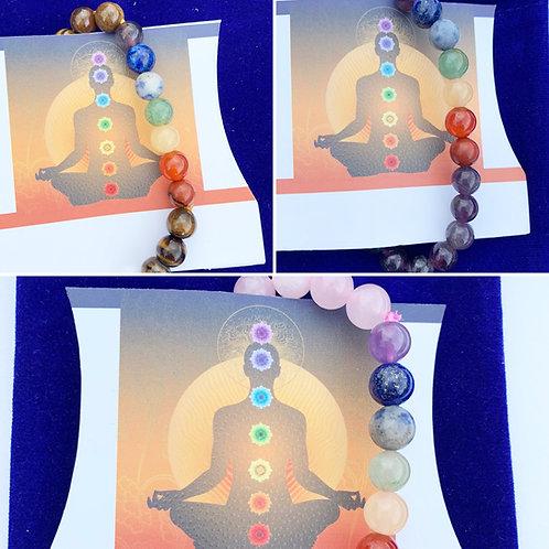 Handmade 7 Chakra Bracelets