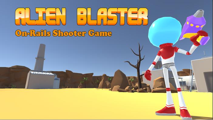 Alien Blaster- Video Game -Gameplay Music (Demo)