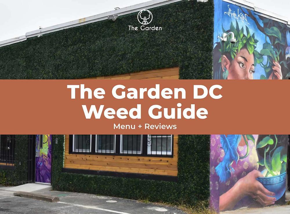The Garden DC Menu